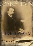 Szabó Ervin - Szabó Ervin levelezése V. kötet [eKönyv: epub, mobi]
