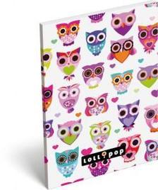 13283 - Notesz papírfedeles A/6 Lollipop Light Owl 17405523
