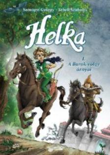 Somogyi György - Helka - A Burok-völgy árnyai - képregény