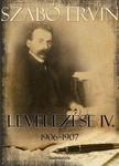 Szabó Ervin - Szabó Ervin levelezése IV. kötet [eKönyv: epub,  mobi]