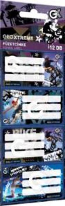 13144 - Füzetcímke 12 db-os GEO Xtreme Mix 17514005