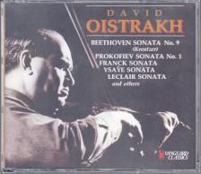 PROKOFIEV, FRANCK, BEETHOVEN - OISTRAKH - PROKOFIEV / FRANCK / BEETHOVEN 3CD