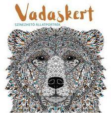 Claire Scully és Richard Merritt - Vadaskert - színezhető állatportrék