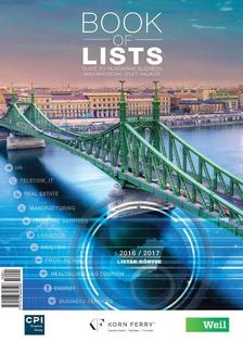 Book of Lists 2016/2017