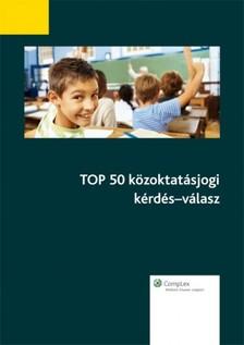 - TOP 50 közoktatásjogi kérdés-válasz [eKönyv: epub, mobi]