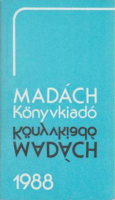 Fukári Valéria - Madách könyvkiadó 1988 [antikvár]