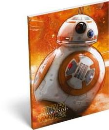 6691 - Notesz papírfedeles A/7 Star Wars 7 BB-8 15429807