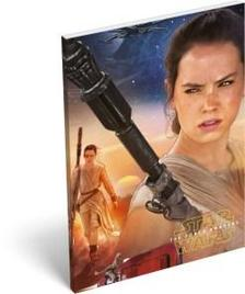 6690 - Notesz papírfedeles A/7 Star Wars 7 Rey 15429806
