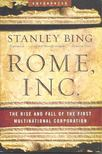 Bing, Stanley - Rome,  Inc. [antikvár]