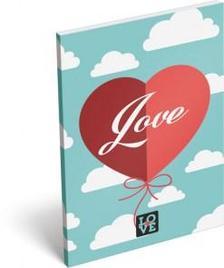 6846 - Notesz papírfedeles A/6 Love Cloud 16437302