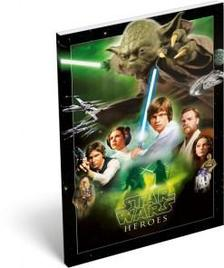 7543 - Notesz papírfedeles A/6 Star Wars Classic Heroes 15441301