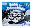 - Sakk és dámajáték társasjáték készlet