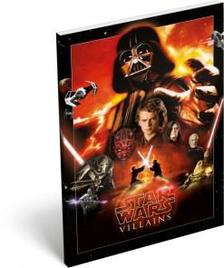 7544 - Notesz papírfedeles A/6 Star Wars Classic Villains 15441302