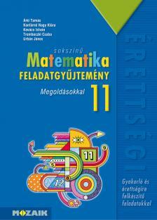 - MS-2324 SOKSZÍNŰ MATEMATIKA FGY. 11. MEGOLDÁSOKKAL