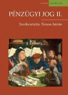 Simon István - Pénzügyi jog II.