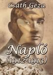Csáth Géza - Napló (1912-1913) [eKönyv: epub,  mobi]