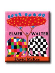 David McKeegan - Elmer és Walter - KEMÉNY BORÍTÓS