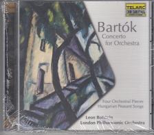 BARTÓK BÉLA - CONCERTO, 4 ORCHESTRAL PIECES, HUNGARIAN PEASENT SONGS CD BOTSTEIN